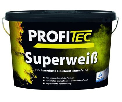 Краска PROFI Tec P120 base 2 Superweiß, 12,5 л